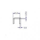 Скоба упаковочная для мебельного степлера №53